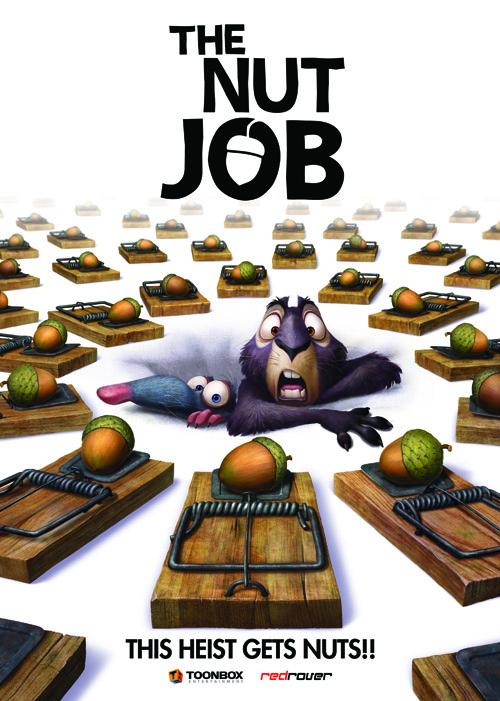 the nut job � movie poster � k design studio